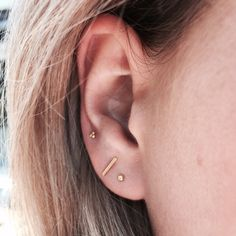 discret earrings | @louisefrrs