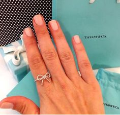 Cute Tiffany Ring ... Brings back memories