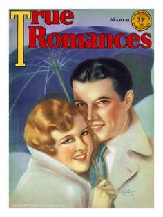 True Romances Vintage Magazine -- March 1931 Cover artdotcom