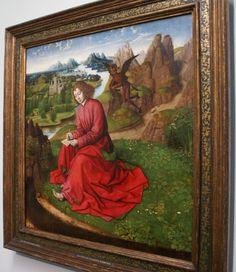 мастер круга дирка боуса.иоанн евангелист.1465г.музей бойманса ван бёнингена.роттердам