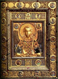 Archangel Michael - icon from a church in Constantinople, c. 10th-11th century