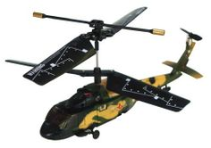 Cobra R/C 3 Channel Mini Helicopter - Black Hawk by Cobra. $25.69. From the Manufacturer                With Our Cobra Toys Radio Controlled (RC) helicopters you can benefit from greater aerobatic capabilities and longer flying time. Carefully developed and tested, Cobra Toys use better batteries - often Li-Poly (Lithium Polymer) for quicker charge time and longer play time, better components and superior construction. The result is a premium quality designed and ...