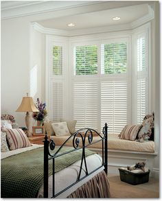 Hunter Douglas Heritance Hardwood Shutters build upon the unique natural beauty of real wood. They couple the best of distinctive design with the marvel of innovative excellence. These shutters stand in a class of their own, adding a rare sense of timeless charm to every room of your home. Enjoy the view as you tilt the louvers to reveal more or less of the outside world.