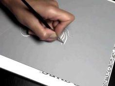 I'm drawing a brooch bird. Cécile Rochay, jewelery designer: www.rochaydesign.fr