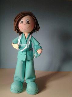 Fofucha enfermera de quirofano para Pilar