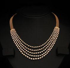 Bridal Necklace Set, Wedding Jewelry, Wedding Necklaces, Tanishq Jewellery, Gold Jewellery Design, Diamond Jewellery, Diamond Necklaces, Gold Necklace, Jewellery Rings