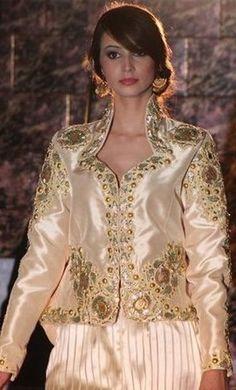 An Algerian dress. A modern style