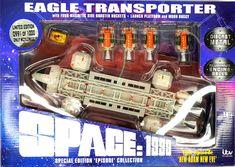 Mondbasis Alpha 1 Space:1999 Adler Eagle Transporter New Adam New Eve Raumschiff