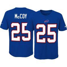Nike Youth Buffalo LeSean McCoy #25 Pride Royal T-Shirt, Size: Small, Team
