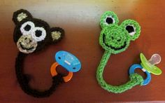 [Free Pattern] This Technique Used To Make The Monkey And The Frog Is So Simple! I'm Amazed!