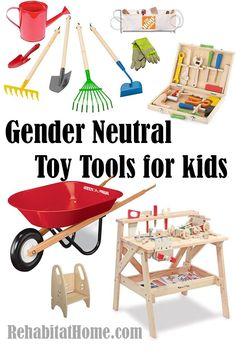 gender neutral tool sets for kids to play work with dad gender neutral toyschristmas gifts - Gender Neutral Christmas Gifts