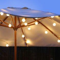 10er Party LED Lichterkette warmweiß 5m | Lights4fun