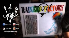 """""""Rainbow Factory"""" timelapse by Lusure"""