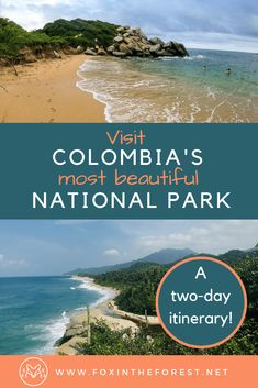 A complete guide to Tayrona National Park Colombia. Best hikes in Colombia. Best Beaches in Colombia. Where to stay things to do and tips for visiting Tayrona National Park. Visit Colombia, Colombia Travel, Backpacking South America, South America Travel, Machu Picchu, Bolivia, Ecuador, Patagonia, Cool Places To Visit