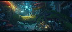 ArtStation - Jungle Adventure, oyang _YK