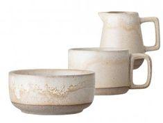 Interde - luxusní doplňky a dekorace v severském stylu Muesli, Sugar Bowl, Bowl Set