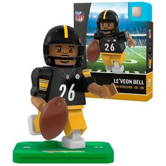 Le'Veon Bell Pittsburgh Steelers OYO Sports Generation 5 Player Minifigure