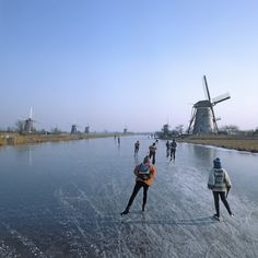 When waterways in the Netherlands freeze into glittering paths, overjoyed residents take to the ice. Visitors can buy or rent a pair of noren (traditional long-blade skates) to glide across town or take part in one of the country's dozens of tochten, organized tours or races held throughout the n...