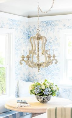 Blue and White Classic Kitchen Reveal