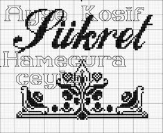 Diy And Crafts, Cross Stitch, Embroidery, Crochet, Rage, Aquarium, Pictures, Islamic Art, Crosses