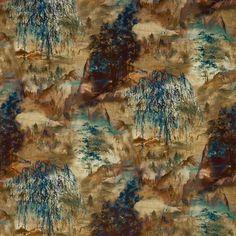 Shan Shui by Prestigious Textiles - Curtain Fabric Store Lined Curtains, Custom Curtains, Curtains With Blinds, Curtain Fabric, Stuart Graham, Curtain Drops, Lost Horizon, Curtain Headings, Prestigious Textiles