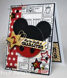 Mickey Mouse by jennypete - Cards and Paper Crafts at Splitcoaststampers