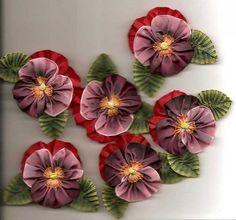 Gallery.ru / Фото #36 - Идеи по вышивке лентами .(находки) - Alika1402