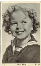 actress SHIRLEY TEMPLE 1930s original vintage photo postcard