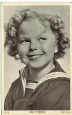 actress SHIRLEY TEMPLE 1930s original vintage photo postcard