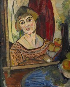 Suzanne Valadon, autoportrait, 1927.