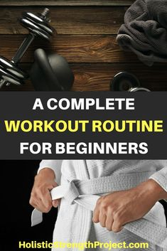 New to fitness? Here's a workout routine for beginners. Learn what exercises you should focus on, how often you should train, how to ensure that you get results, and more. #fitness #workout #beginner
