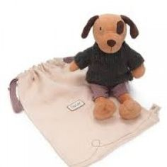 The selection of Ragtales soft toys available from Toys and Games Ireland as baby presents and christening gifts Wooly Jumper, Brown Puppies, Baby Presents, Linen Bag, Baby Dogs, New Toys, Hand Knitting, Kids Toys, Plush