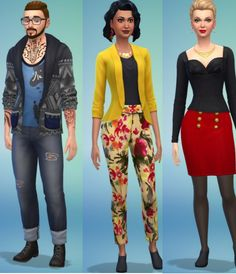 77 Best Sims 4- outfits images in 2019 | Outfits, Fashion