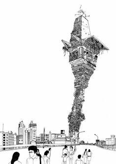 sakaguchi kyohei drawings