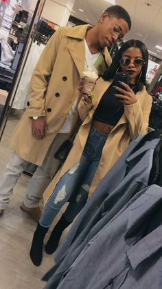 De'arra Taylor on - Best Everyday Fashion Matching Couples, Cute Couples, Paar Style, Dearra Taylor, De'arra And Ken, Me And Bae, Bae Goals, Couple Relationship, Relationships