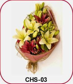 Hand Bouquet Bunga Lily | Toko Bunga by Florist Jakarta