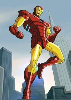 Iron Man from The Avengers Earths Mightiest Heroes