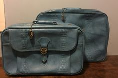 Vintage 1970s American Tourist Set Of 2 Travel Bags By UpTheAntiqueCo On  Etsy