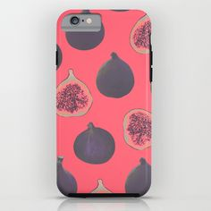 Fig pattern iPhone & iPod Case