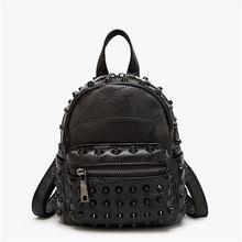 Sheepskin Famous Brands Genuine Leather Women Backpacks Girl ...