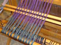 Reflections: Warping a Loom Back to Front - Part 2