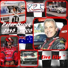 King Of The Mountain Peter Brock.He was the first race car driver i ever saw.Please check out my website thanks. www.photopix.co.nz