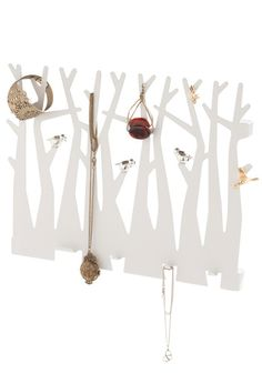 Enchant Get Enough Wall Hooks - White, Dorm Decor, Top Rated   I want to get several of these and mount them to boards -- to be a display for tabletops at craft fairs. Paint the boards a dark forest green, or a sky blue, it would be SO eye-catching!