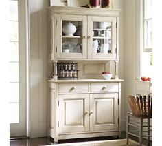 Love this for side buffet as built-in in our kitchen along with finish on cabinets with black counter