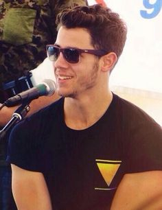Oh Nick Jonas you've grown up so well :D