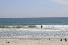 "Having fun at the beach is ""Ashore Thing."""