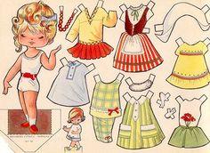 1963 victoria recortables paper doll | RRCORTABLE SERIE COMETA. - recortablesmariquitascromostroquelados ...