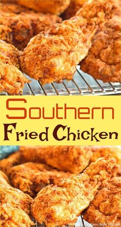 Southern Fried Chicken Southern Fried Chicken You are in the right place about party food Here we offer you the most beautiful pictures about the food saludable you are looking for. When you examine the Southern Fried Chicken part Best Fried Chicken Recipe, Fried Chicken Legs, Homemade Fried Chicken, Fried Chicken Breast, Crispy Fried Chicken, Chicken Drumstick Recipes, How To Fry Chicken, Southern Buttermilk Fried Chicken, Fried Chicken Seasoning