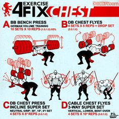 4 Exercise Chest Workout #chestday #chestworkout #chestexercises