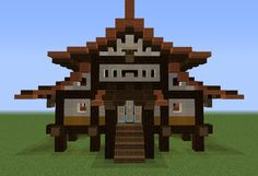 Old Japan Store - GrabCraft - Your number one source for MineCraft buildings, blueprints, tips, ideas, floorplans!